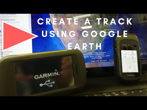 Create a track with Google Earth Pro