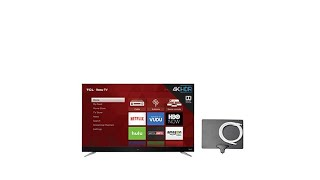 TCL 55 4K Roku Smart TV w/2Year Warranty and Antenna