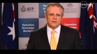 Australian Immigration Minister Scott Morrison tells asylum seekers to go home