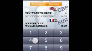 International Send Money - Moneybookers Fee PRO Calculator