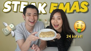 MASAK STEAK EMAS FT. JESS NO LIMIT!