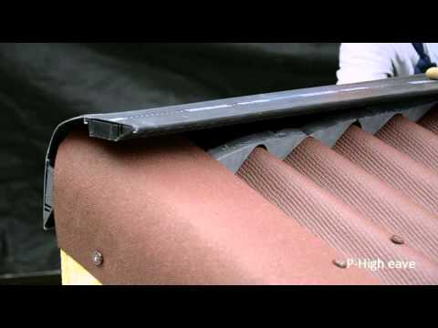 Ondura P High Eave Installation   YouTube
