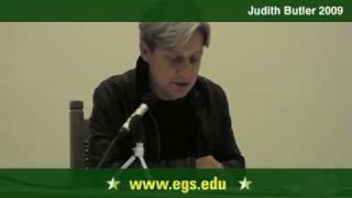 Judith Butler. Hannah Arendt, Ethics, and Responsibility. 2009 2/10