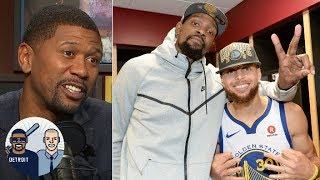 Can Steph Curry, Kevin Durant keep up scoring pace for Warriors?   Jalen and Jacoby