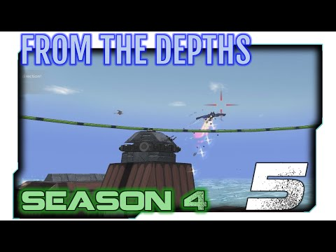 Let's Play From the Depths \ Gameplay (Season 4) - 2. First Blood!