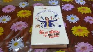 Willy Wonka & The Chocolate Factory VHS New And Factory Sealed Unboxing(1994 Second Release Edition)