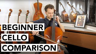 Beginner Cello Comparison