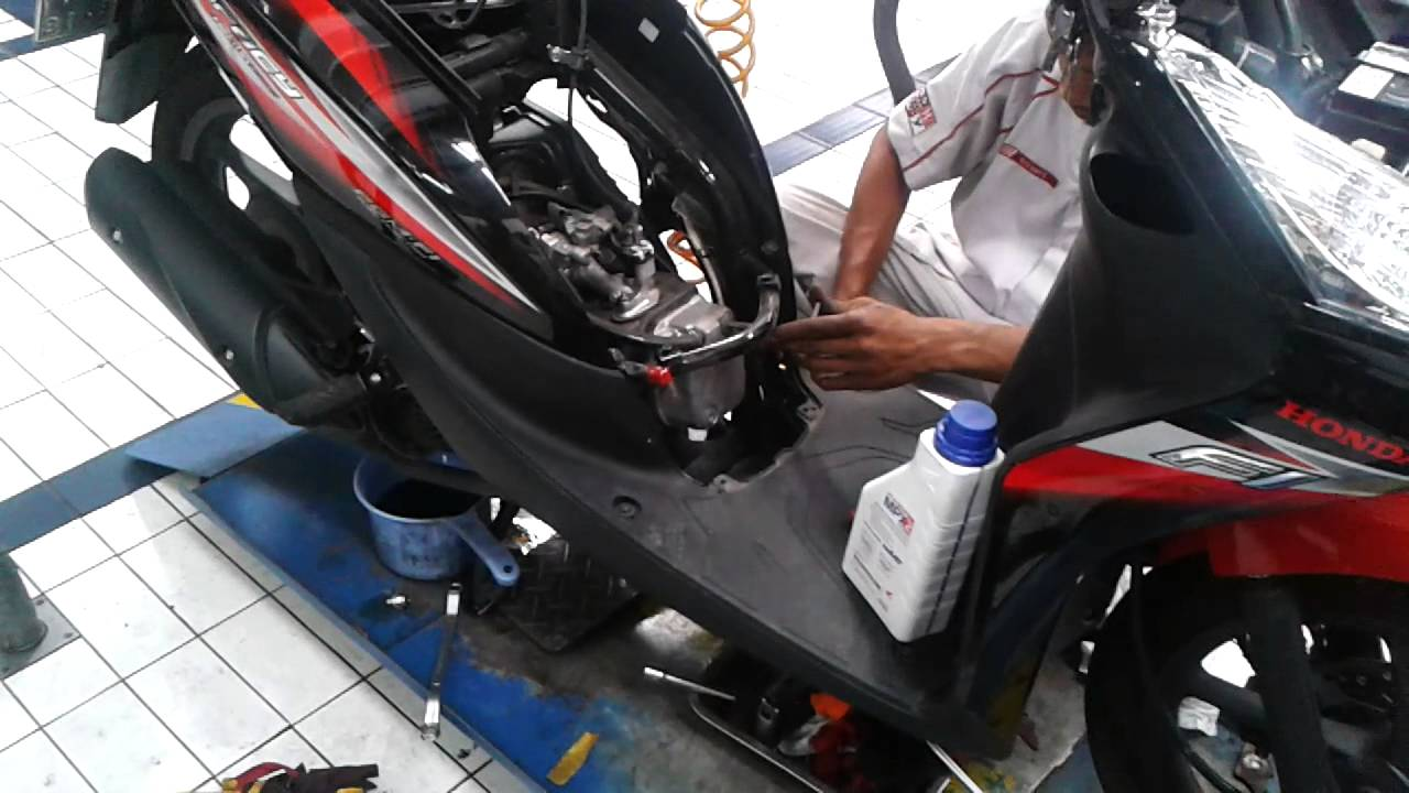 Koleksi 56 Modifikasi Motor Honda Spacy Helm In Terlengkap Pojok