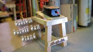 Making My Custom Scroll Saw Stand