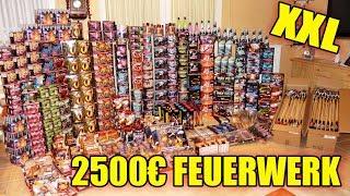 XXL Silvester Feuerwerk 2018|2019 Zünden!! (für 2500€)
