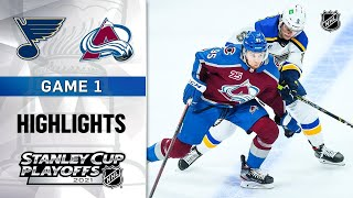 St. Louis Blues vs Colorado Avalanche | Stanley Cup 2021 | Game 1 | May.17, 2021 | Обзор матча