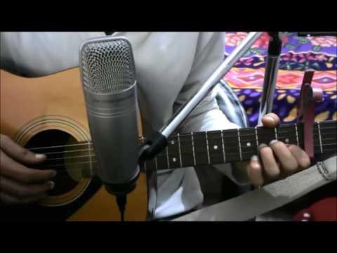 Tera Mera Pyaar - ( ROMANTIC SONG ) - Kumar Sanu - SIMPLE COMPLETE GUITAR LESSON CHORDS INTRO