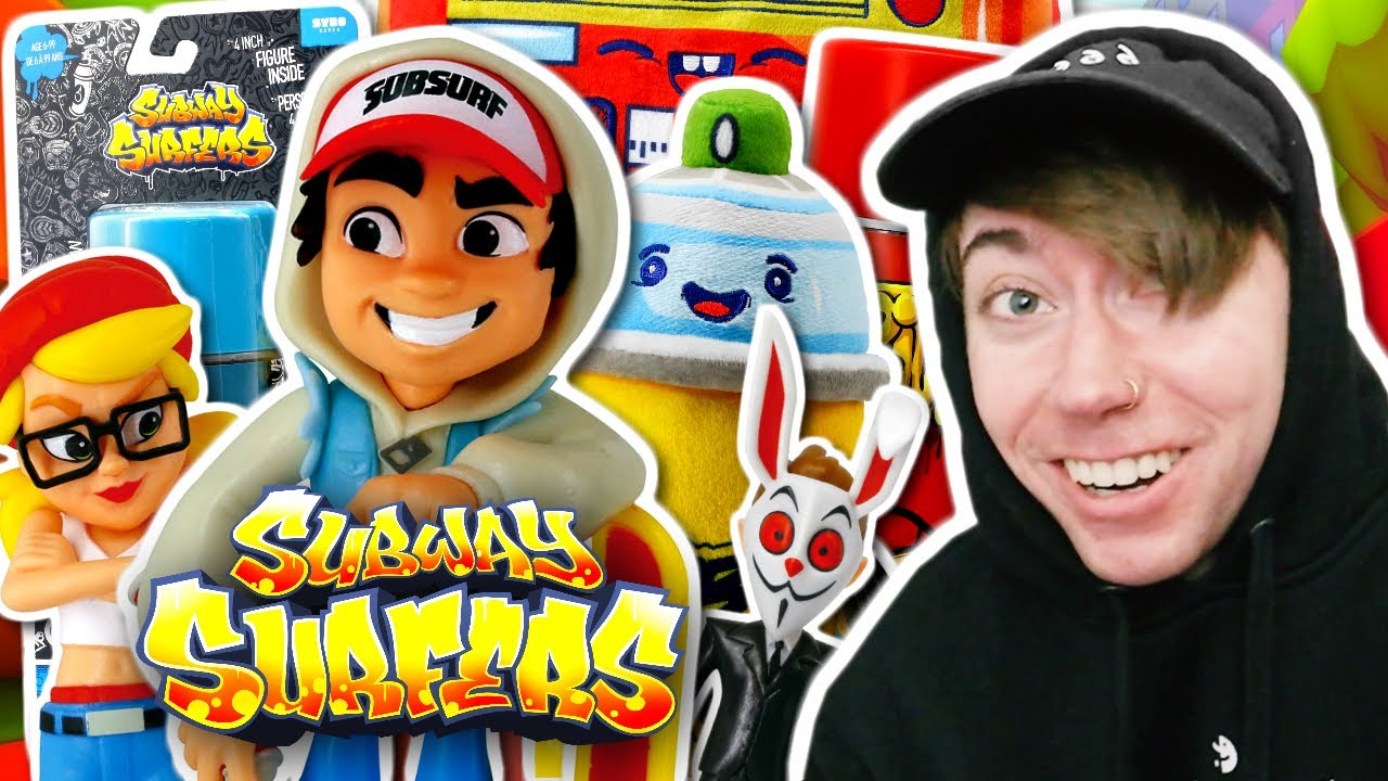 Download Opening SUBWAY SURFERS Toys!