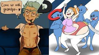 Deviantart Cringe - Rick and Morty