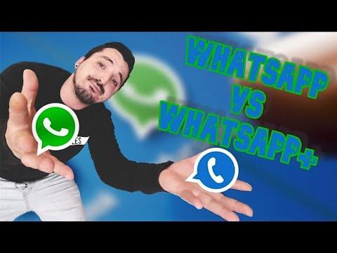 ⏺️✔️✔️WhatsApp VS WhatsApp plus ventajas 2020🔶