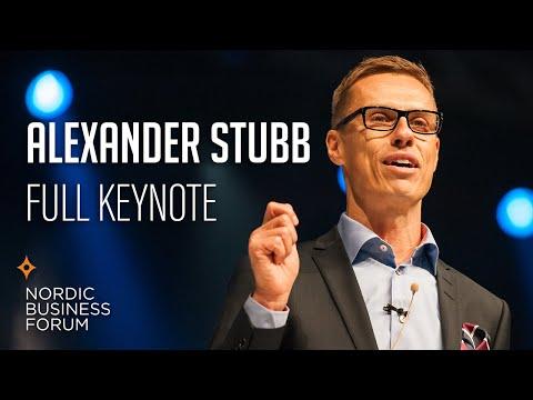 Nordic Business Forum 2013 - Alexander Stubb - Speech + Q&A
