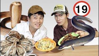 Comiendo Comida para Adultos en Corea | Rio & Christian