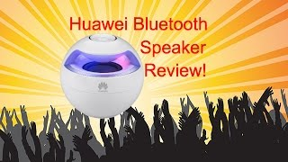 Huawei AM08 Singing Swan Bluetooth Speaker Review