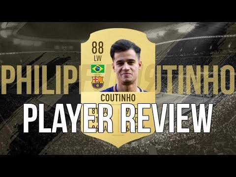 FIFA 19 - PHILIPPE COUTINHO (88) PLAYER REVIEW
