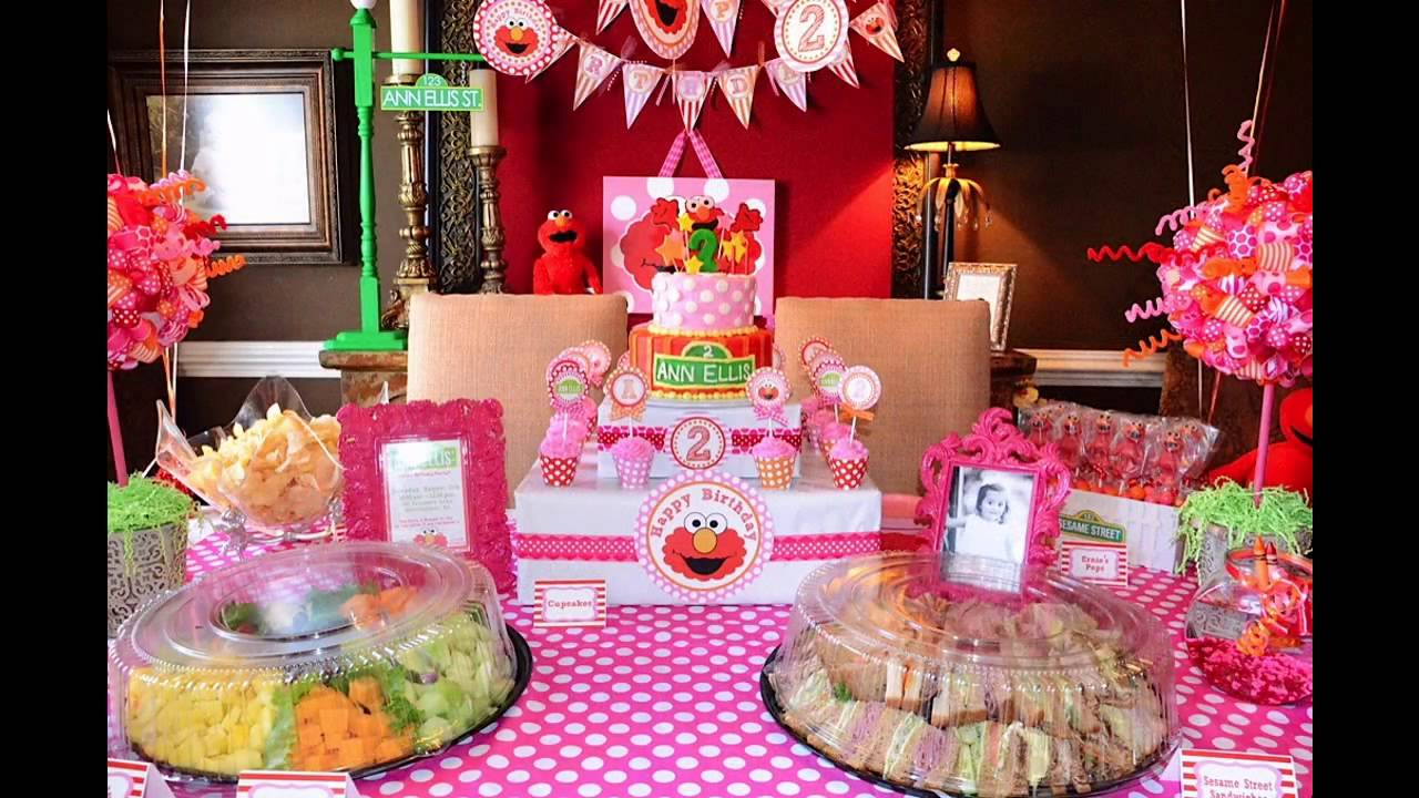 second birthday party decorations at home ideas youtube