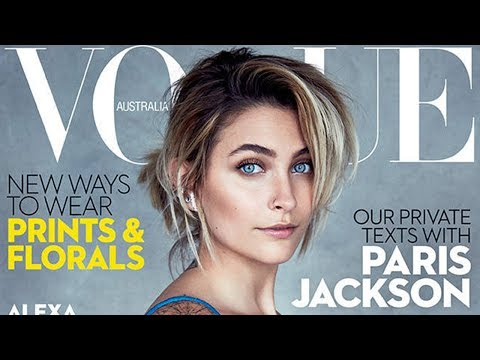 Paris Jackson Opens Up To Vogue Australia About Being A Positive Role Model