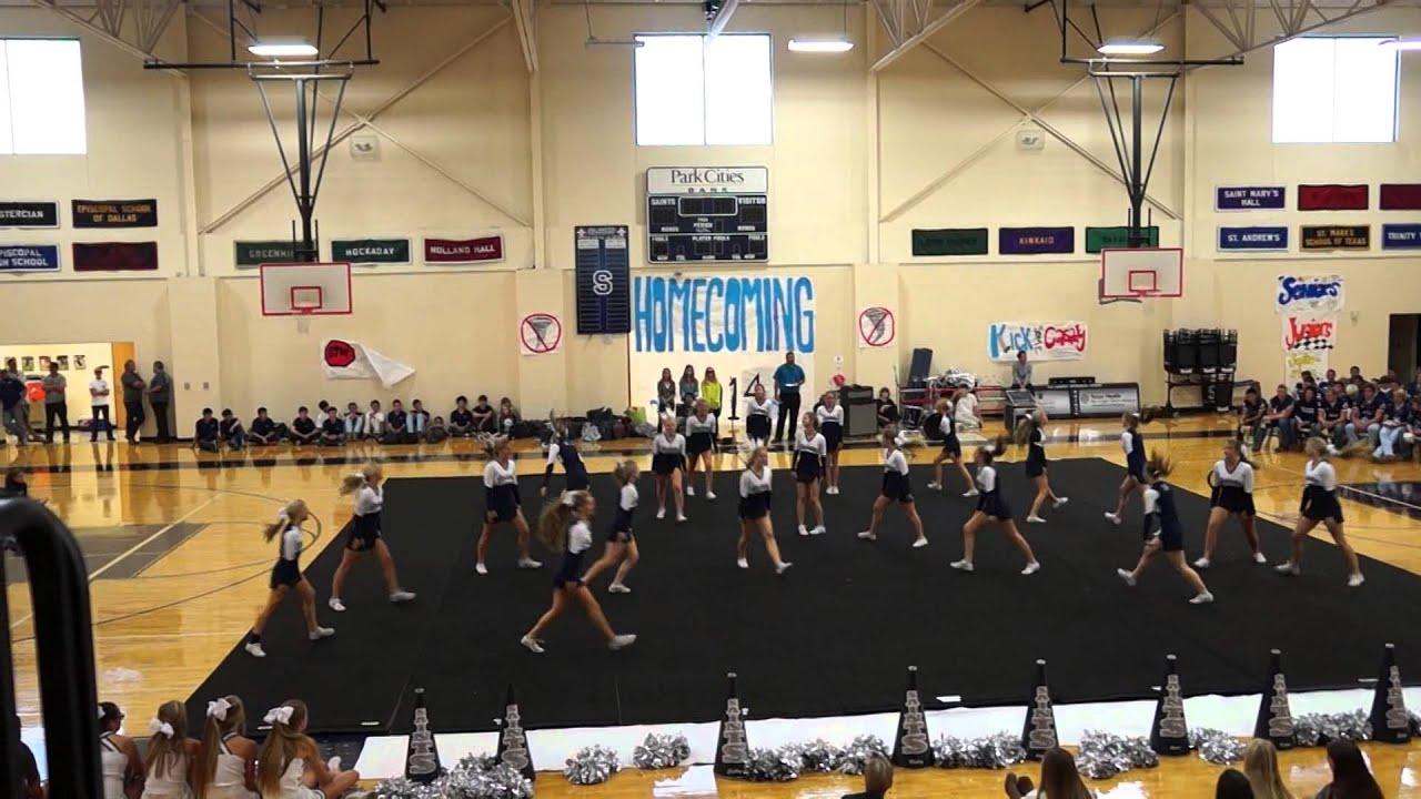 All Saints Episcopal School Varsity Cheer 2014