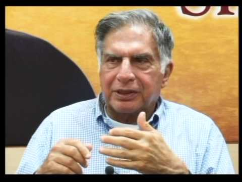 Leadership Lecture Series Interaction With Mr. Ratan N. Tata Part # 2/4