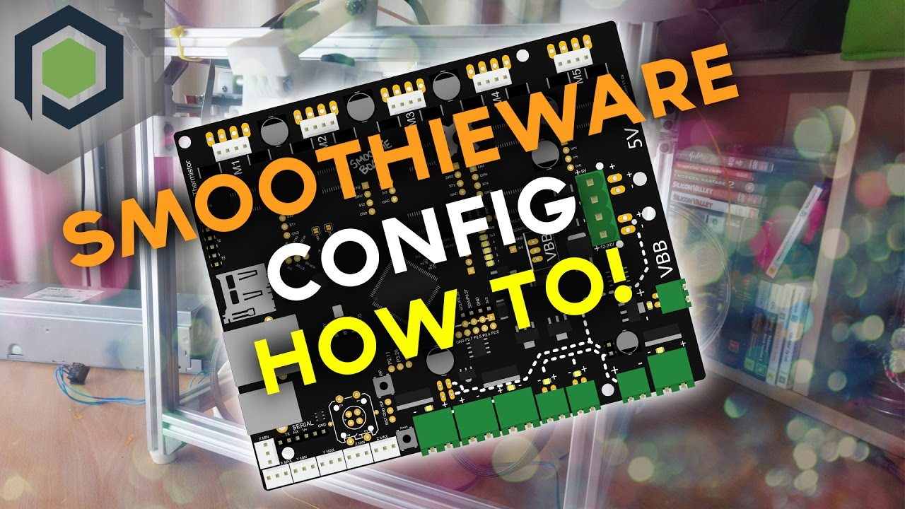 Setting up your Smoothieware Config File!
