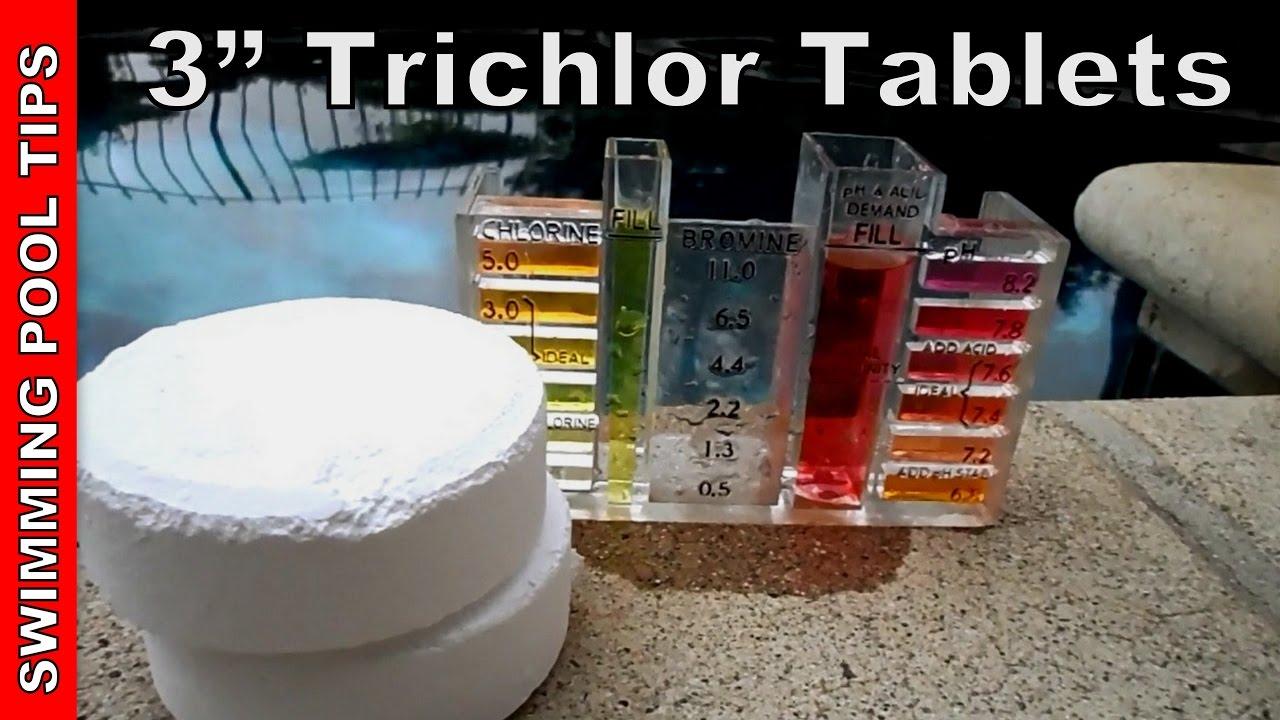 3 Trichlor Chlorine Tablets User Guide Youtube