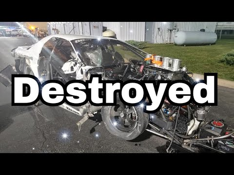 I Wrecked My $200k Street Outlaw No Prep Car In Norwalk Ohio