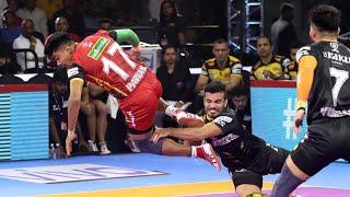 Pro Kabaddi 2019 Highlights   Bengaluru Bulls vs Telugu Titans   M77