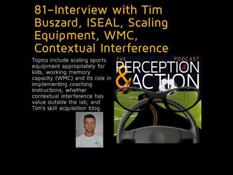 81 – Interview with Tim Buszard, ISEAL, Scaling Equipment, WMC, Contextual Interference