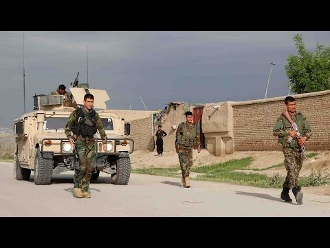 Dozens of Afghan soldiers killed by Taliban gunmen on army base