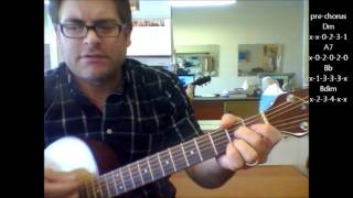 "How to play ""Everytime You Go Away"" by Paul Young on acoustic guitar"