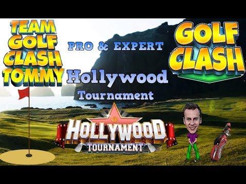 Golf Clash tips, Hole 9 - Par 5, Hollywood Tournament - PRO/EXPERT - Guide/Tutorial