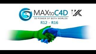 Плагин MaxToC4D (Больше информации в описании)(MaxToC4D это новый плагин для переноса сцены 3ds max в Cinema 4D всего в два клика, преодолевая тем самым распространён..., 2015-09-06T10:01:17.000Z)