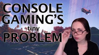 Console Gaming's *tiniest* problem   Game Accessibility and Text Size