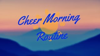 cheer practice morning routine... | Roblox