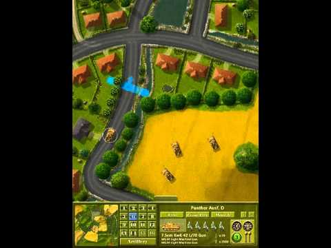Controlling a group of Panther tanks in iOS Firefight