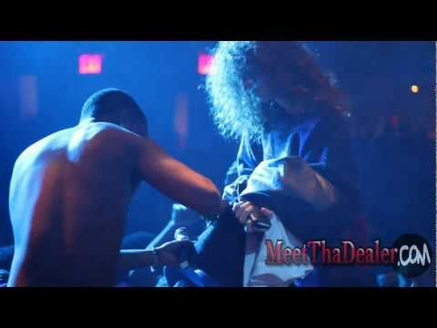 Dude gives up his girlfriend to LiL B the Based God at Highline Ballroom