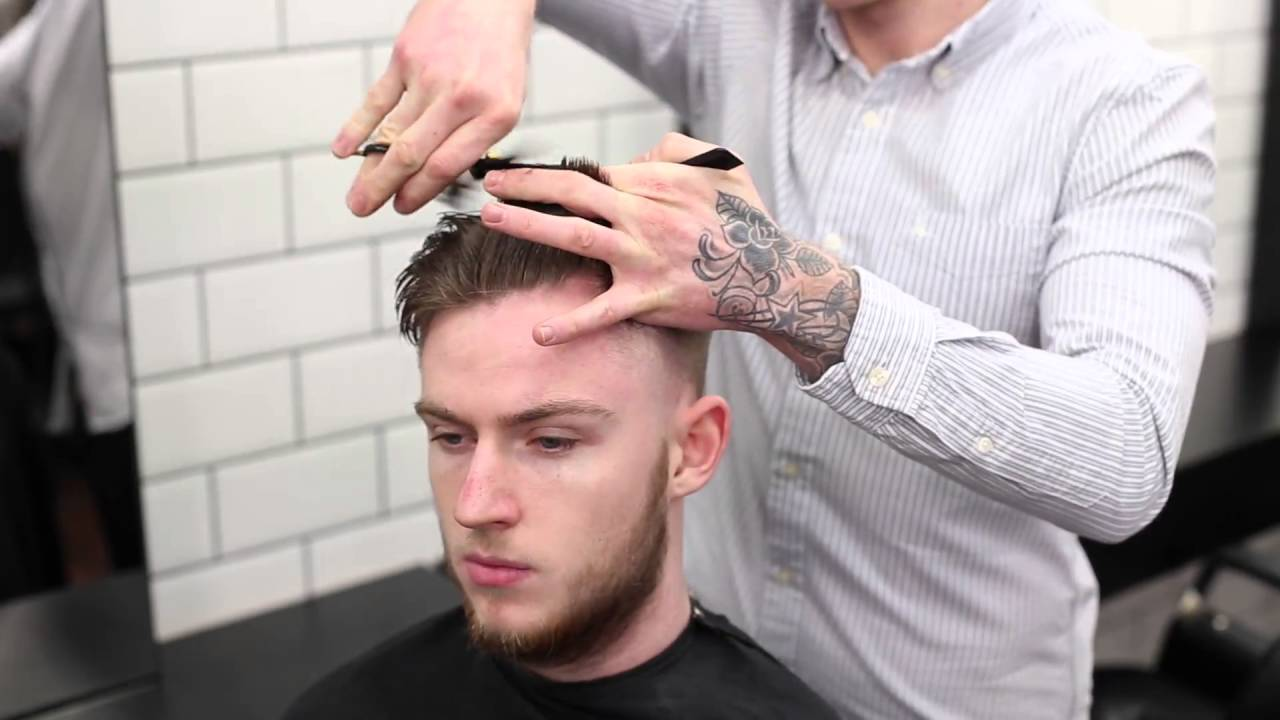 Blow Out Fade London School Of Barbering Haircut Highlights