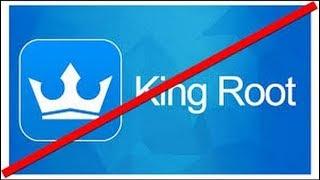 как удалить рут  права  в  King  root