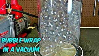 What Will Happen if You Put Bubble Wrap in a Vacuum?