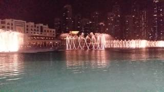 Ishtar Poetry-Arabic Song Dubai Fountain Full HD 60fps
