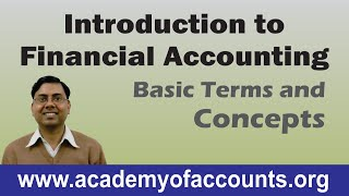 #1 Basic Introduction of Financial Accounting