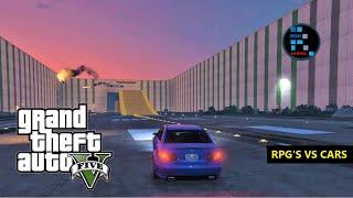 GTA V | RPG'S VS FLYING CARS FUNNY GAMEPLAY