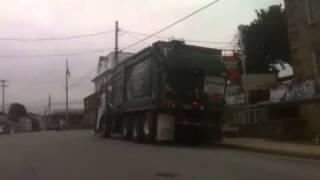 York Waste Disposal Inc Garbage Truck