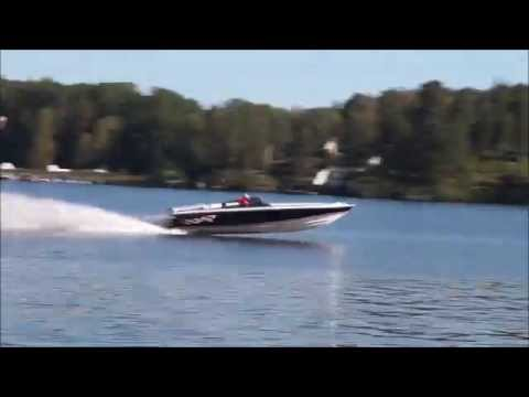 Donzi 22 Classic Worlds fastest at 112 6 MPH - YouTube