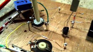 germanium transistors, audio pre amplifier, part 2