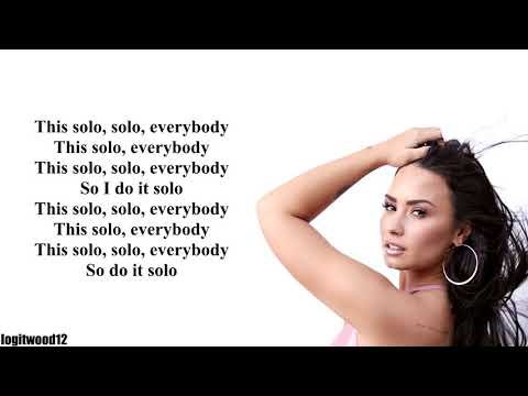 Clean Bandit feat. Demi Lovato - Solo [W/ LYRICS]